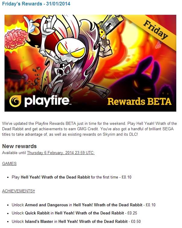 Playfire Client