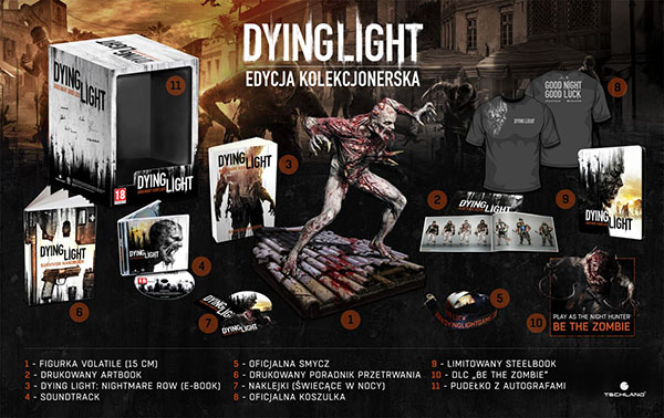 Dying Light kolekcjonerka
