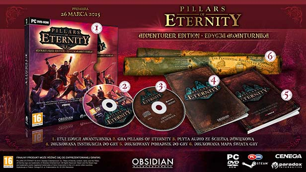 Pillars of Eternity ed awanturnika