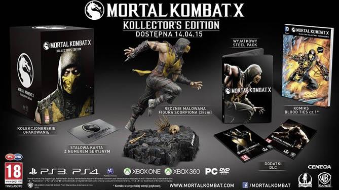 Mortal Kombat x - kolekcjonerska