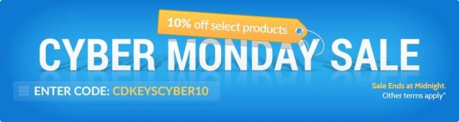 Cyber Monday 2016 w cdkeys.com