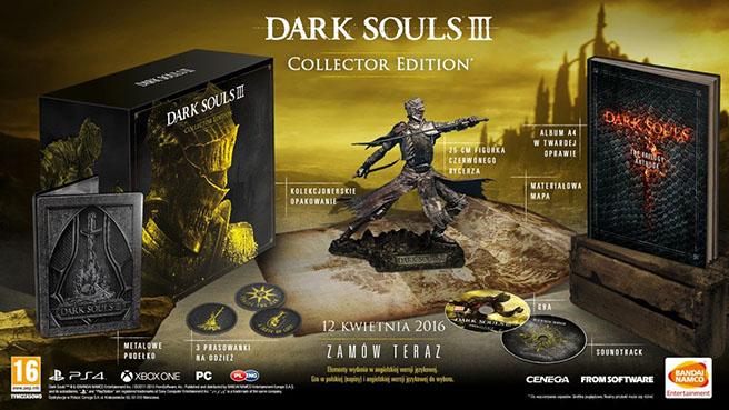 Dark Souls 3 - edycja kolekcjonerska