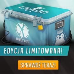 Skrzynka Łowcy Gier Premium CS:GO Case ponownie dostępna w Kinguinie