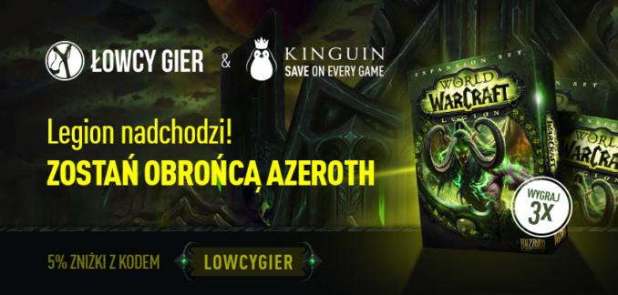 Giveaway: 3 klucze do World Of Warcraft: Legion