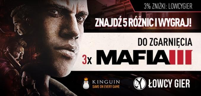 Znajdź 5 różnic na obrazku i zgarnij 1 z 3 kluczy Steam do Mafii 3!