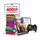 Zgarnij 400 złotych do wydania w sklepie Empik.com za założenie darmowej karty kredytowej