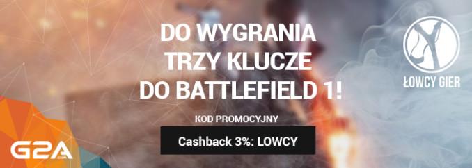 Giveaway: 3 klucze Origin do Battlefield 1!