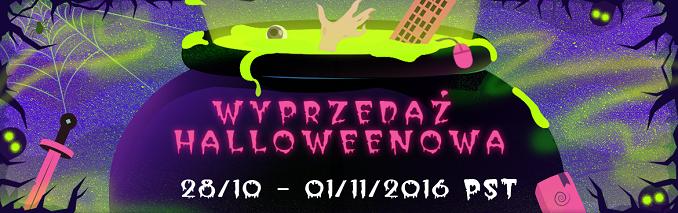Halloweenowa Wyprzedaż na Steamie