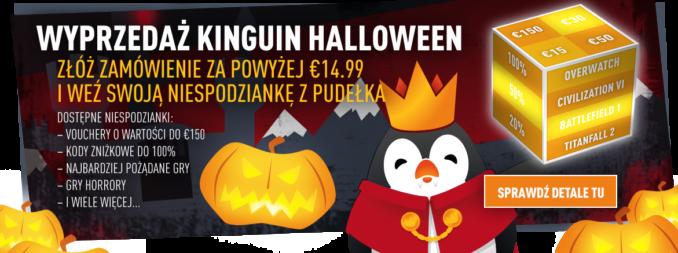 Halloweenowa Wyprzedaż w Kinguin (28.10)