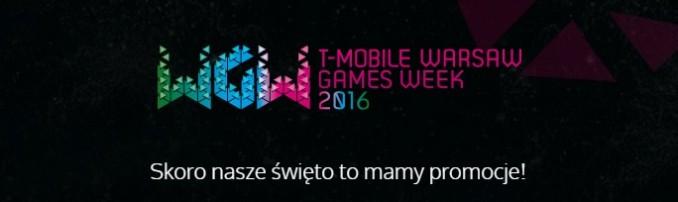Promocja z okazji Warsaw Games Week 2016 w Muve