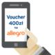 Zgarnij 400 złotych do wydania na Allegro za założenie darmowej karty kredytowej