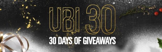 Kalendarz adwentowy Ubisoftu – 30 prezentów przez 30 dni!