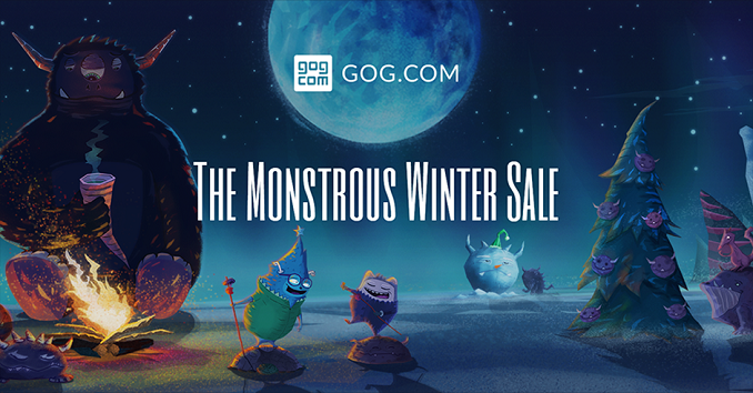 The Monstrous Winter Sale 2016 na GOG.com