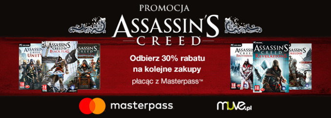 Promocja na serię Assassin's Creed w Muve