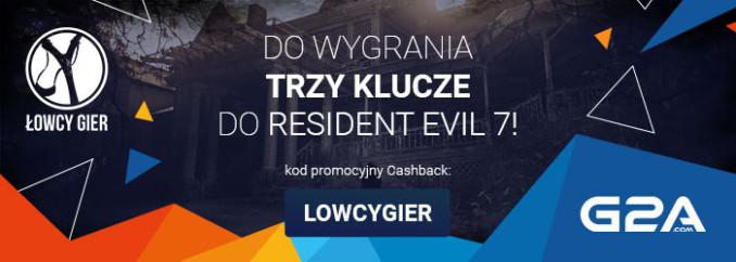 [Aktualizacja] Giveaway: wygraj 1 z 3 kluczy Steam do Resident Evil 7!