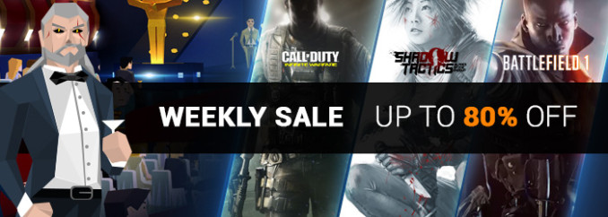 G2A Weekly Sale (24.02)