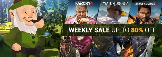 G2A Weekly Sale (17.03)