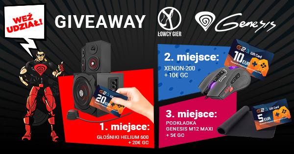 [Aktualizacja – wyniki] Kolejny sprzętowy giveaway! Wygraj głośniki, mysz, podkładkę i karty podarunkowe G2A!