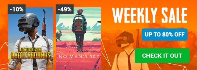 G2A Weekly Sale (4.07)