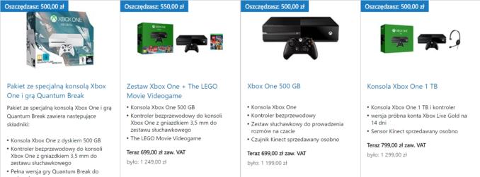 Promocja #sekretxbox w polskim Microsoft Store – konsola Xbox One z grą już od 699 złotych!
