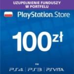 Promocja na doładowanie 100 zł w PlayStation Store