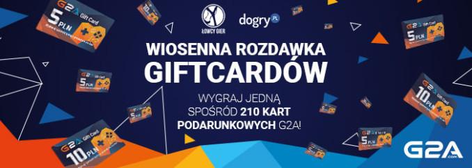 [Aktualizacja] Wiosenna rozdawka kart podarunkowych G2A – wygraj 1 z 210 nagród!