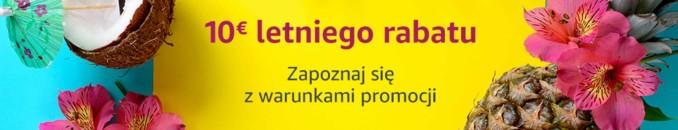 10 Euro rabatu na zamówienia o wartości min. 40 Euro w niemieckim Amazonie