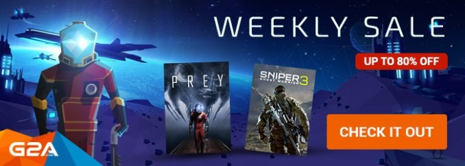 G2A Weekly Sale (5.05)