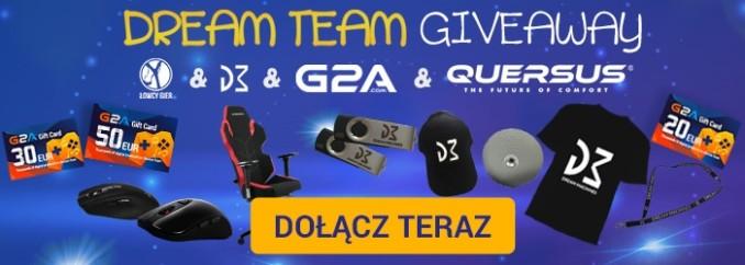 [Aktualizacja] Giveaway: wygraj fotel gamingowy, mysz, głośnik bluetooth i giftcardy G2A!