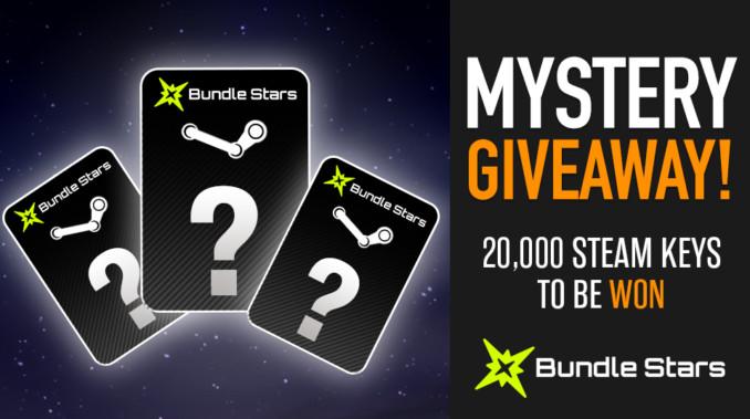 Wygraj 1 z 20 000 losowych kluczy Steam od Bundlestars