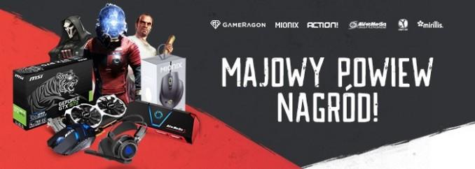 [Aktualizacja] Giveaway: wygraj grabber wideo, kartę graficzną, myszkę, klucze do topowych gier i inne!