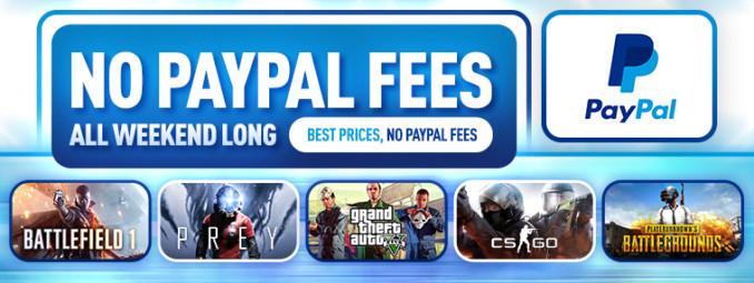Weekend bez prowizji Paypal na Kinguinie