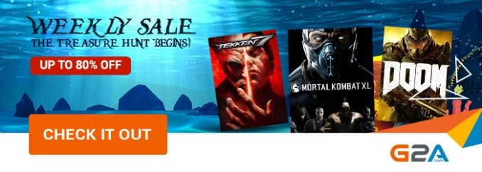 G2A Weekly Sale (16.06)