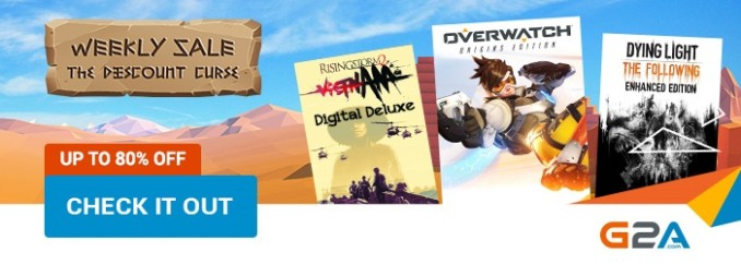 G2A Weekly Sale (23.06)