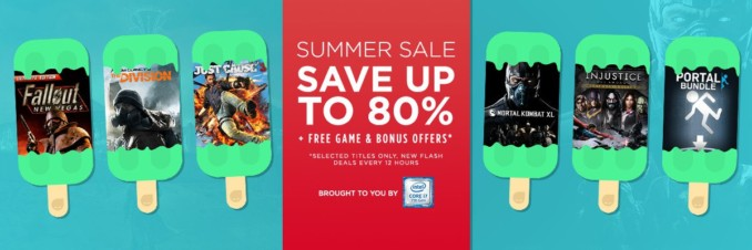 GMG Summer Sale – Flash Deals (Dzień 5, tura 1)