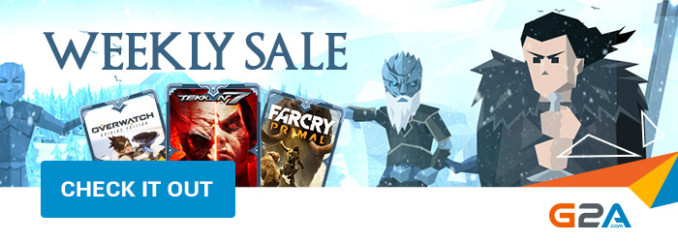 G2A Weekly Sale (21.07)
