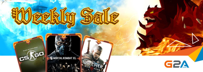 G2A Weekly Sale (28.07)