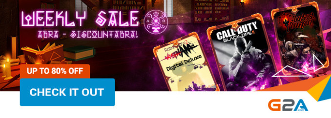 G2A Weekly Sale (14.07)