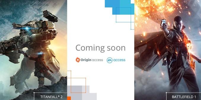 Battlefield 1 i Titanfall 2 już wkrótce w Origin/EA Access!