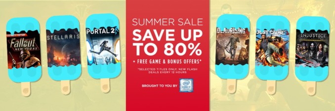 GMG Summer Sale – Flash Deals (Dzień 9, tura 2)