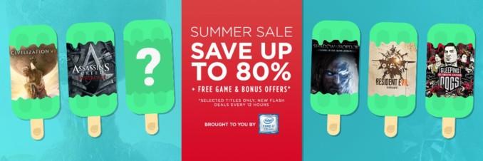 GMG Summer Sale – Flash Deals (Dzień 3, tura 1)