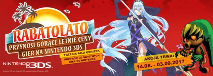 [Aktualizacja] Rabatolato – kolejna tura promocji na gry na 3DSa
