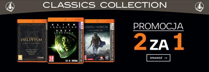 Dwie gry z serii Pomarańczowa Kolekcja Klasyki w cenie jednej w Empiku
