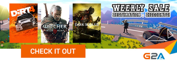 G2A Weekly Sale (18.08)