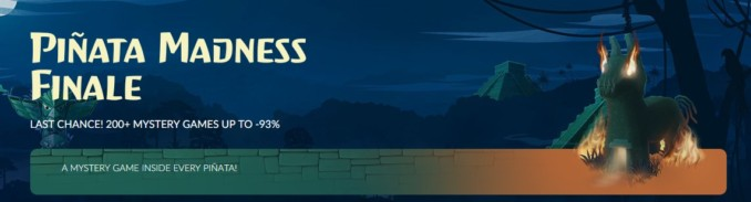 GOG – Pinata Madness Finale! Dodano nowe gry do puli!