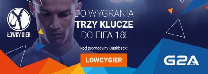[Aktualizacja] Giveaway: wygraj 1 z 3 kluczy do FIFA 18