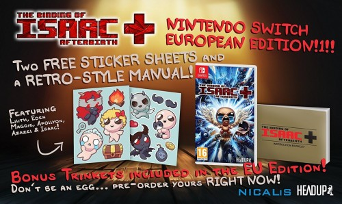 Promocja na The Binding of Isaac Afterbirth+