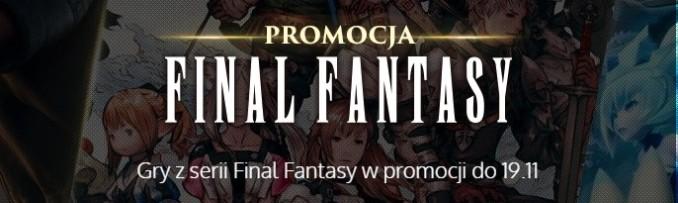 Promocja na serię Final Fantasy w Muve