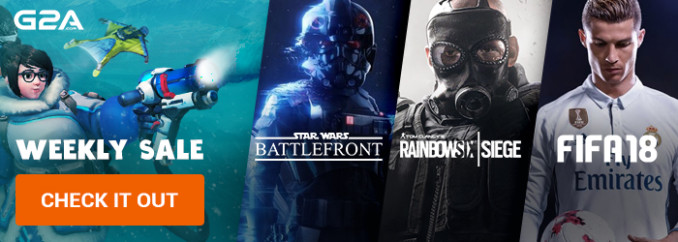 G2A Weekly Sale (15.12)