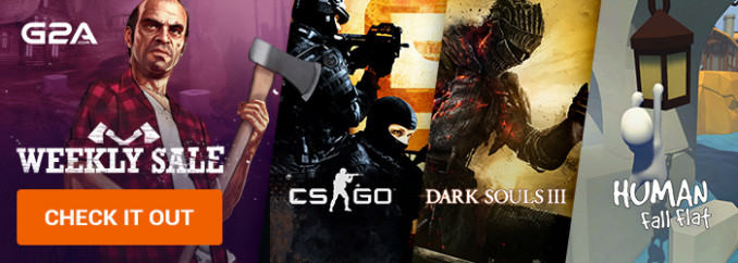 G2A Weekly Sale (12.01)